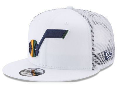 Utah Jazz New Era NBA Summer Time Mesh 9FIFTY Snapback Cap