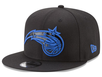 Orlando Magic New Era NBA Patent Blackout 9FIFTY Snapback Cap