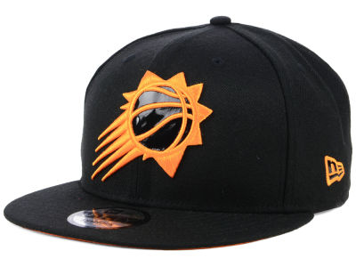 Phoenix Suns New Era NBA Patent Blackout 9FIFTY Snapback Cap
