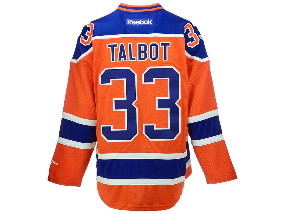 f0257d4e4 ... Edmonton Oilers Cam Talbot Reebok NHL CN PT Premier Player Jersey ...