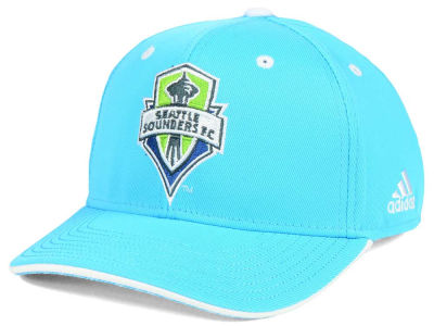 Seattle Sounders FC adidas MLS Jersey Adjustable Cap