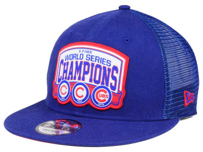 Chicago Cubs New Era MLB Custom Mesh 9FIFTY Snapback Cap