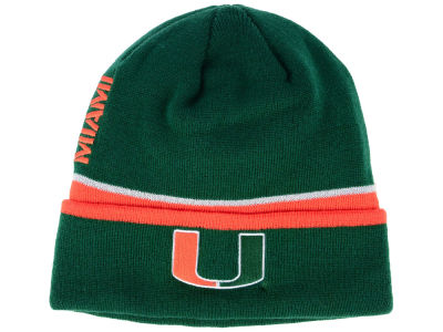 Miami Hurricanes adidas 2017 NCAA Coach Cuffed Knit