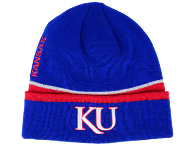 Kansas Jayhawks adidas 2017 NCAA Coach Cuffed Knit