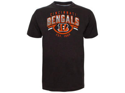 Cincinnati Bengals Old Time Hockey NFL Men's Shuffle T-Shirt