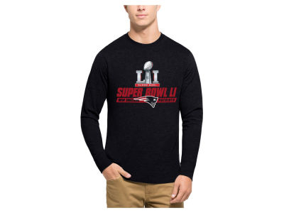 New England Patriots Nike NFL Men's Super Bowl LI Bound Club Longsleeve T-Shirt