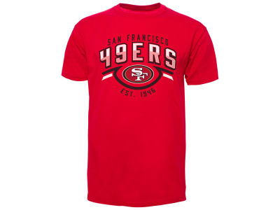 San Francisco 49ers Old Time Hockey NFL Men's Shuffle T-Shirt
