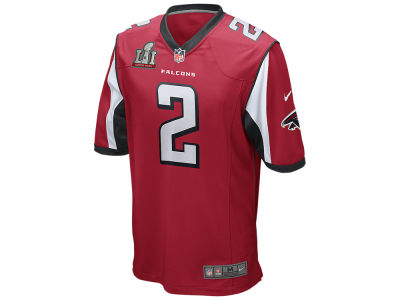 Atlanta Falcons Matt Ryan Nike NFL Men's Super Bowl LI Patch Game Jersey