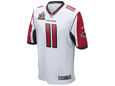 Atlanta Falcons Julio Jones Nike NFL Men's Super Bowl LI Patch Game Jersey