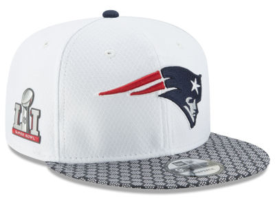 New England Patriots New Era NFL Super Bowl LI Opening Night 9FIFTY Snapback Cap
