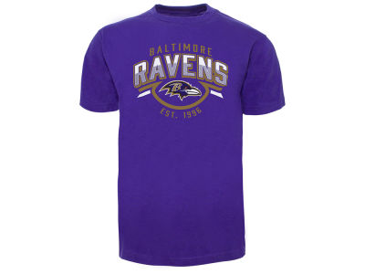 Baltimore Ravens Old Time Hockey NFL Men's Shuffle T-Shirt