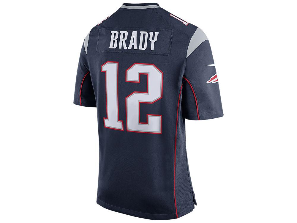 New England Patriots Tom Brady Nike NFL Men s Super Bowl LI Patch Game  Jersey  c467e151e