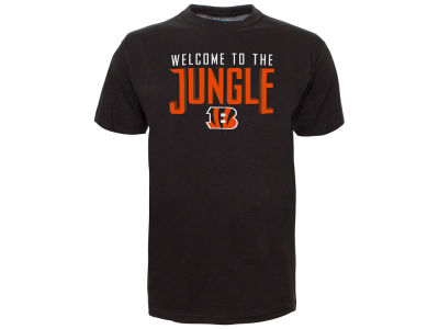 Cincinnati Bengals Old Time Hockey NFL Men's Slogan T-Shirt