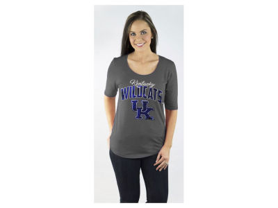 Kentucky Wildcats Gameday Couture NCAA Women's Half Sleeve Bling T-Shirt