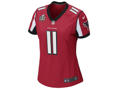 Atlanta Falcons Julio Jones Nike NFL Women's Super Bowl LI Patch Jersey
