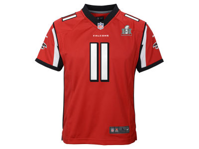 Atlanta Falcons Julio Jones Nike NFL Youth Super Bowl LI Patch Jersey