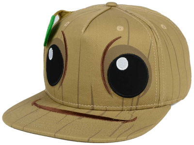 Marvel Guardians of the Galaxy Baby Groot Bigface Snapback Cap