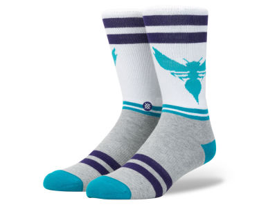Charlotte Hornets Stance NBA City Gym Crew Socks