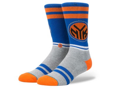 New York Knicks Stance NBA City Gym Crew Socks