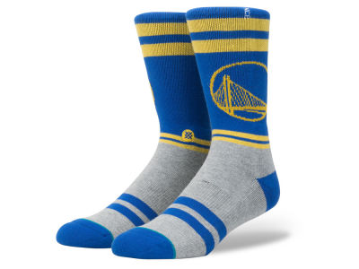 Golden State Warriors Stance NBA City Gym Crew Socks