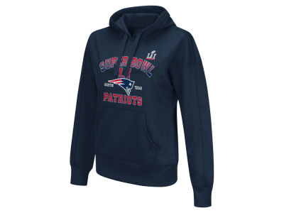 New England Patriots NFL Women's Super Bowl LI Bound Hooded Sweatshirt