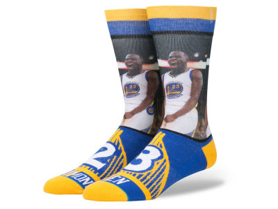 Golden State Warriors Draymond Green Stance NBA Player Jersey Crew Sock