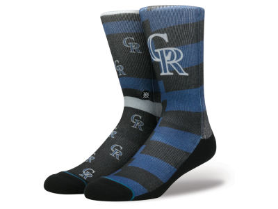 Colorado Rockies Stance MLB Splatter Crew Sock