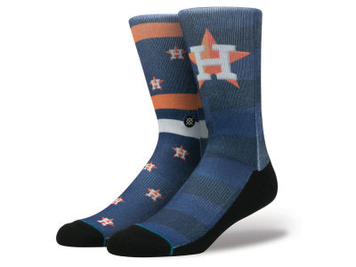 Houston Astros Stance MLB Splatter Crew Sock