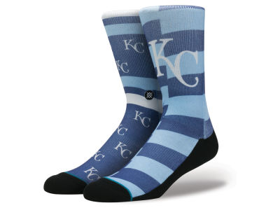 Kansas City Royals Stance MLB Splatter Crew Sock