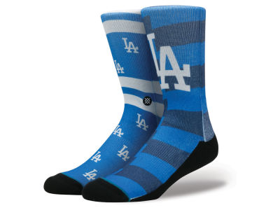 Los Angeles Dodgers Stance MLB Splatter Crew Sock