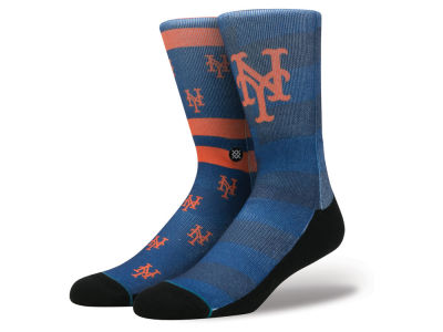 New York Mets Stance MLB Splatter Crew Sock
