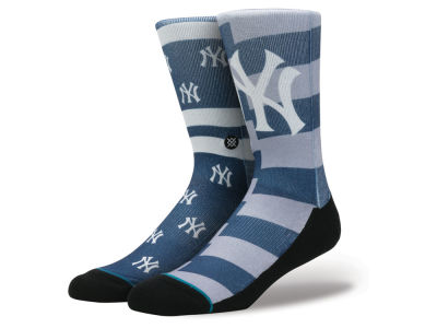 New York Yankees Stance MLB Splatter Crew Sock