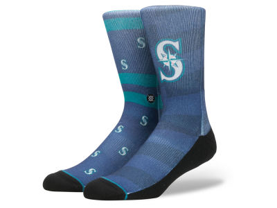 Seattle Mariners Stance MLB Splatter Crew Sock