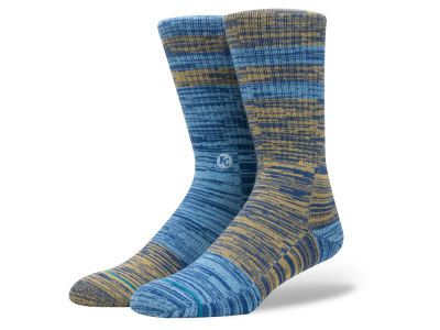 Kansas City Royals Stance MLB Greystone Crew Socks