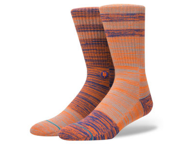 New York Mets Stance MLB Greystone Crew Socks