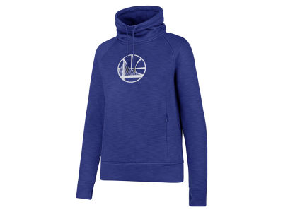Golden State Warriors '47 NBA Women's Shade Funnel Sweatshirt