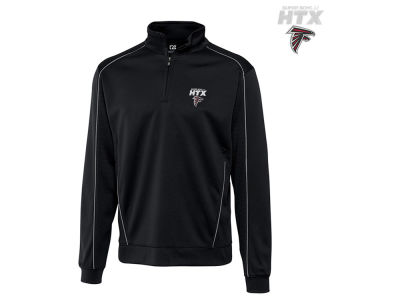Atlanta Falcons Cutter & Buck NFL Super Bowl LI Bound Edge 1/4 Zip