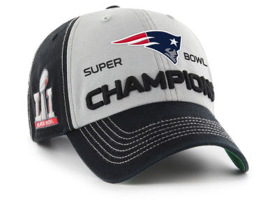 New England Patriots NFL Super Bowl LI McGraw Champ '47 CLEAN UP Cap