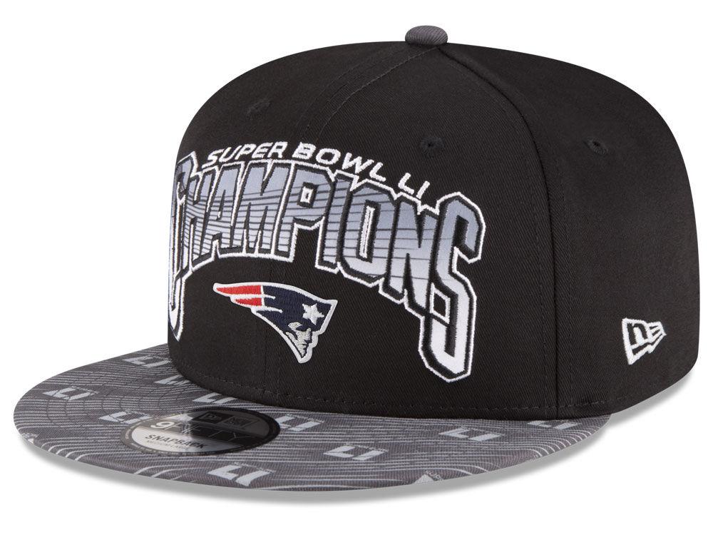 New England Patriots NFL Super Bowl LI Champ 9FIFTY Snapback Cap ... 89909f259114