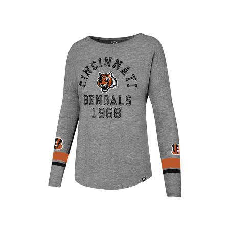 Cincinnati Bengals '47 NFL Women's Encore Long Sleeve T-Shirt