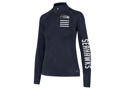 Seattle Seahawks '47 NFL Women's Forward Quarter Zip Pullover