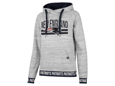 New England Patriots '47 NFL Women's Revolve Hooded Sweatshirt