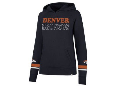 Denver Broncos '47 NFL Women's Throwback Hooded Sweatshirt