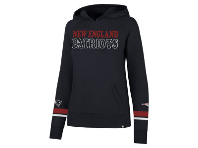 New England Patriots '47 NFL Women's Throwback Hooded Sweatshirt