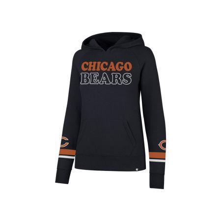Chicago Bears '47 NFL Women's Throwback Hooded Sweatshirt