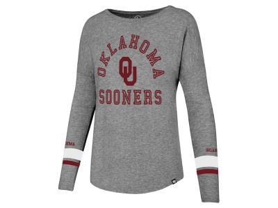 Oklahoma Sooners '47 NCAA Women's Courtside Long Sleeve T-Shirt