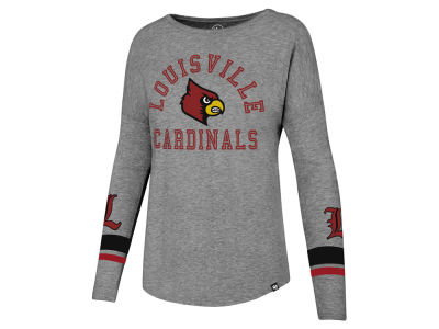 Louisville Cardinals '47 NCAA Women's Courtside Long Sleeve T-Shirt