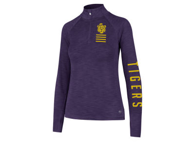 LSU Tigers '47 NCAA Women's Forward Microlite Shade Quarter Zip Pullover