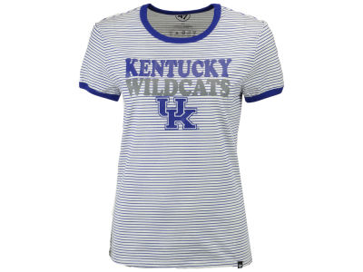 Kentucky Wildcats '47 NCAA Women's Striped Ringer T-Shirt
