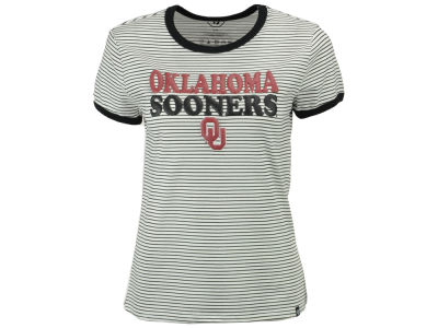 Oklahoma Sooners '47 NCAA Women's Striped Ringer T-Shirt
